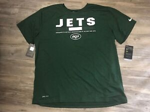 487c1300 Details about New York Jets Nike NFL Men's Legend Staff T-Shirt Size Medium  New With Tags!!
