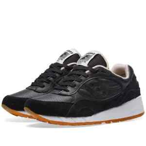 Saucony Shadow 6000HT Trainer in nero/marrone RRP 115 BNWT