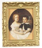 Dollhouse Miniature Framed Colonial Artwork