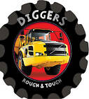 Rough & Tough: Diggers by Fiona Boon (Board book, 2012)