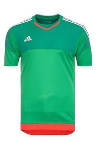 Details zu adidas adizero GK Torwarttrikot kurzarm grün Trikot Jersey Gr. XS S M L XL XXXL