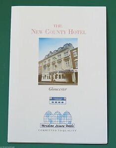The New County Hotel Gloucester 1990s Promotional Brochure - Scunthorpe, United Kingdom - The New County Hotel Gloucester 1990s Promotional Brochure - Scunthorpe, United Kingdom