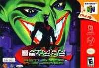 Nintendo N64 Batman Beyond Box Cover Photo Wall Poster 8.5x11 No Game