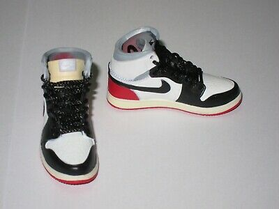 1//6 Scale Sneakers Shoes Trainers 350V2 Black Red