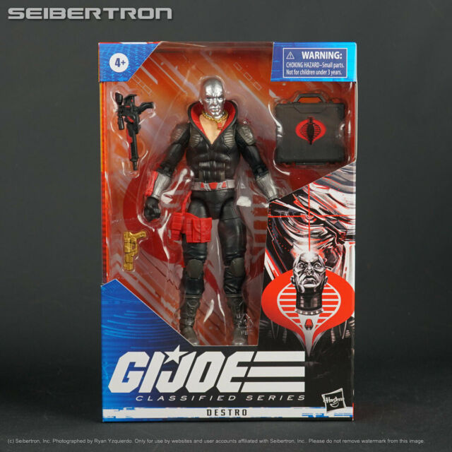 "GI Joe Classified Series DESTRO 6"" Action Figure Hasbro 2020 New -- IN STOCK"