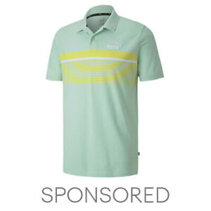 PUMA ESS+ Striped Men's Polo Men Polo Basics