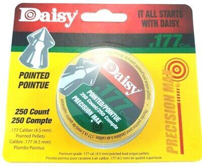 DAISY POINTED .177 Precision Max Fast Point 7.2 Hot AIR GUN PELLETS 250 ct.