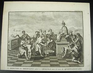 Claude-Dubosc-the-Mercury-of-Mexican-Adored-in-Cholula-Quetzalcouatl-1720-Mexico