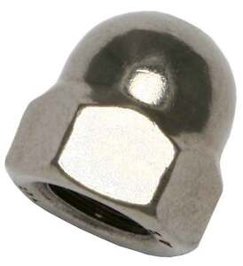 Stainless Steel Acorn Hex Nut Cap for 1/8\