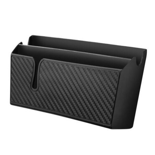Black Multifunctional Car Auto Accessories Organizer Storage Box Phone Holder