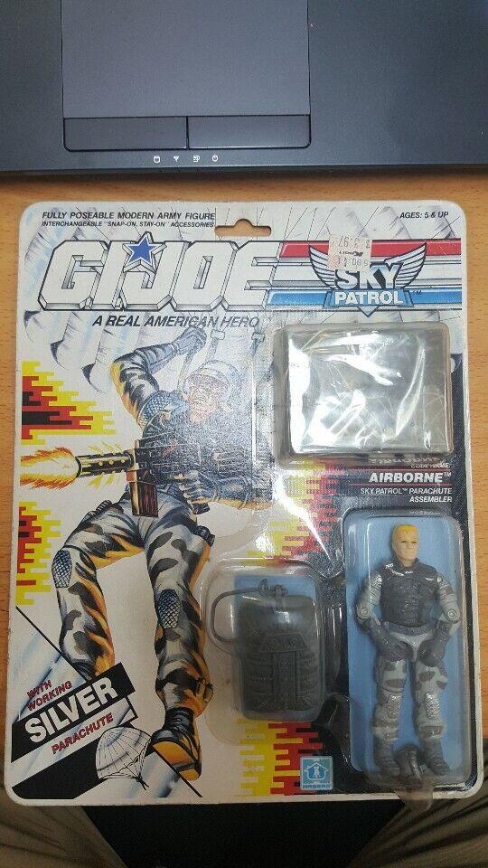 Vintage 1989 G.I. Joe SKY PATROL AIRBORNE New SEALED