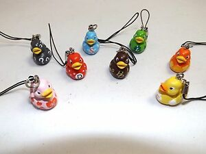 Mini-Lucky-Duck-Charms-Ideal-bag-and-purse-charms-Party-Bag-Toys