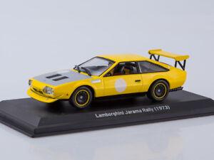 Scale Model 1 43 Lamborghini Jarama Rally Yellow 1973 Ebay