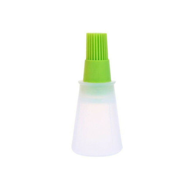 60ml Silicone Oil Bottle With Brush Baking BBQ Basting Brush Pastry Oil Brush