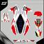Grafiche-personalizzate-HUSQVARNA-CR-250-RiMotoShop-Opaco miniatura 3