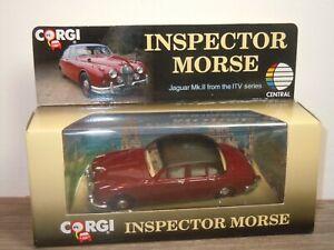 Jaguar-MKII-Inspector-Morse-Corgi-96682-in-Box-37352