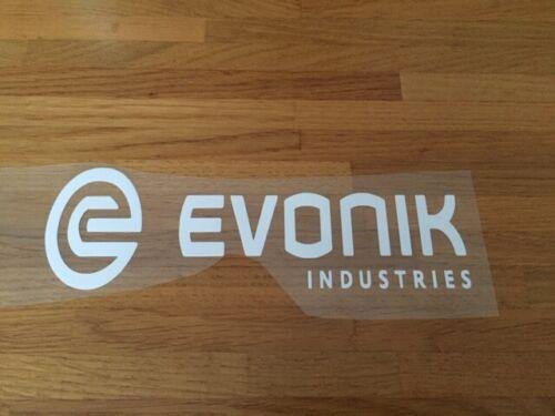 EVONIK PATCH FLOCAGE FOOTBALL VINTAGE FLEX BLANC 21 CM PAR 7 CM