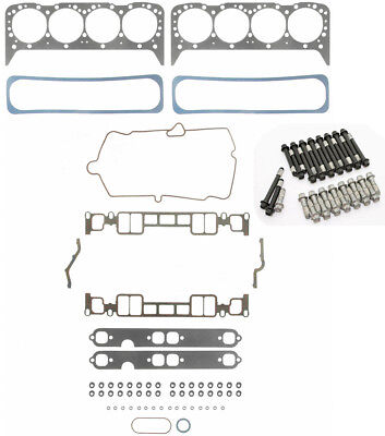 FEL-PRO Head Gasket Set+BOLTS for MERCRUISER CHEVY VORTEC MARINE 350 5 7 |  eBay