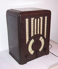 Schönes Mende Bakelit Röhrenradio WK Art Deco Bauhaus True Vintage Radio !