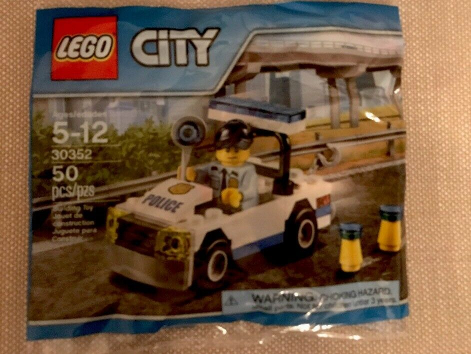 Lego Party Lego City Police Car 50 pcs Polybag Poly Driver Mini Figure Giveaways