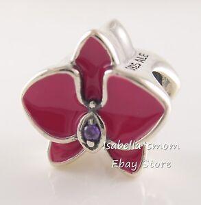 Details about RADIANT ORCHID Genuine PANDORA Pink/Purple ENAMEL Summer  Charm 792074EN69 NEW!