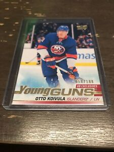 2019-2020-Upper-Deck-Series-2-Otto-Koivula-Young-Guns-Exclusive-58-100