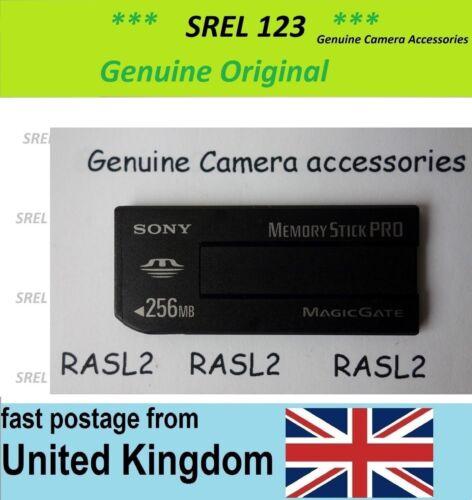 Sony Memory Stick Pro MagicGate 256 MB tarjeta de memoria MSX-256S