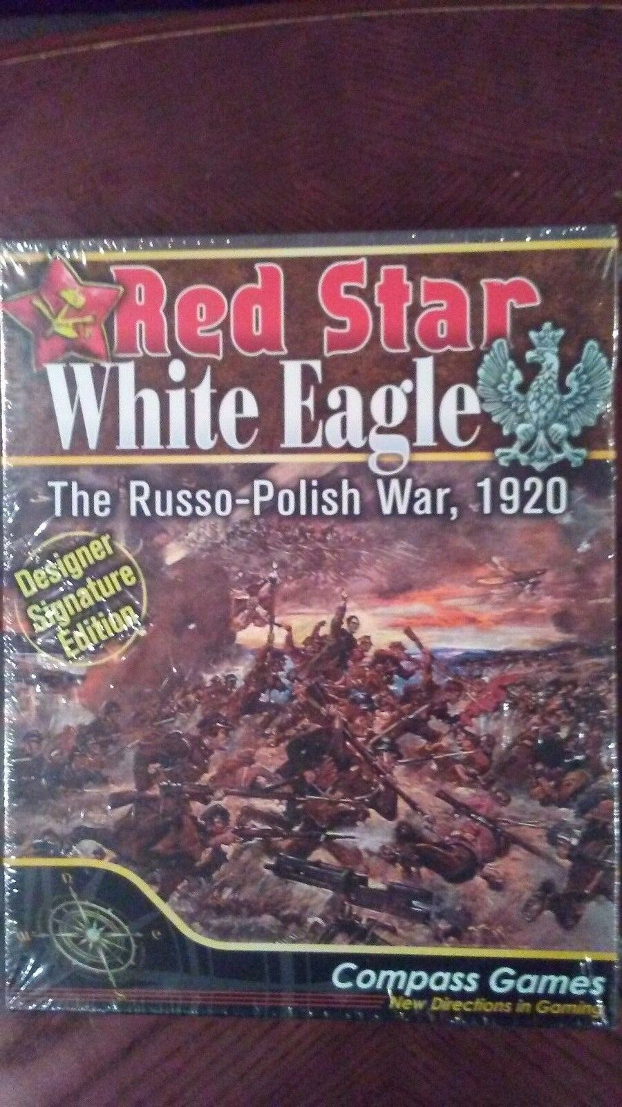 rosso Star bianca Eagle.  The Russo-Polish War 1920.  Sealed.