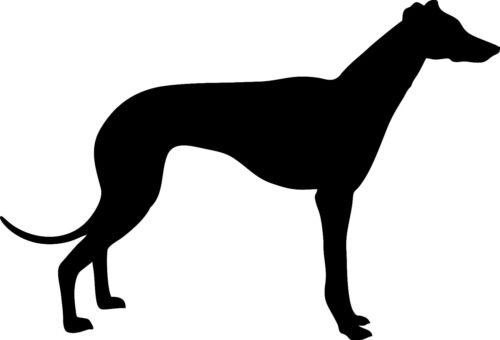 Greyhound in Mild Steel for Weather vanes or Features in Gates