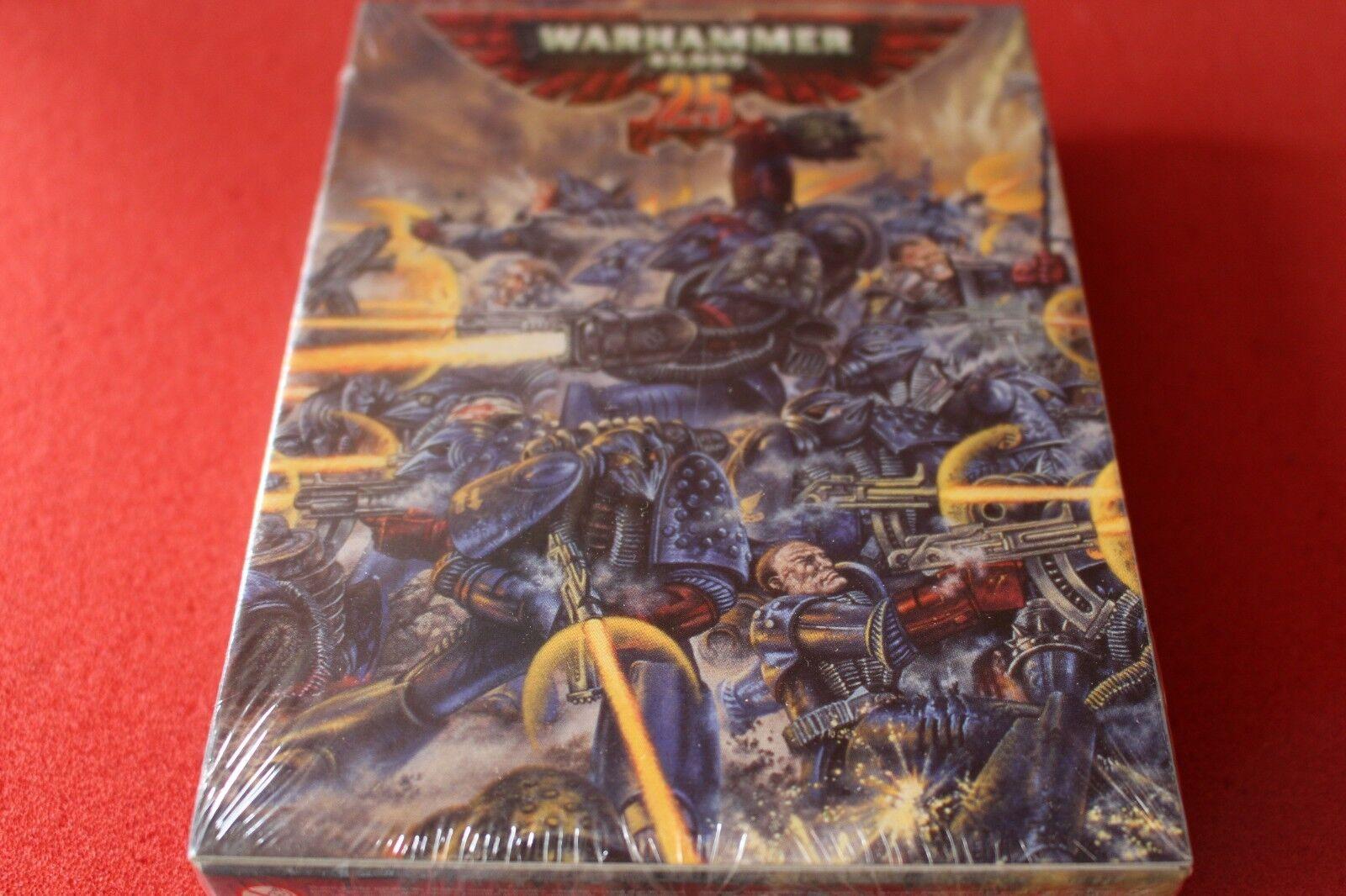 Warhammer 40k Cochemesí puños Rogue Trader 25th aniversario edición limitada precintado