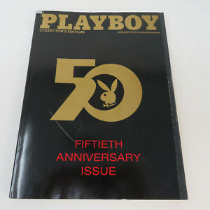 Playboy-50th-Anniversary-Issue-2004-Collector-039-s-Edition