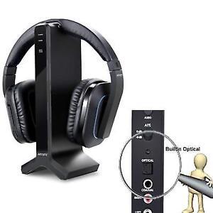 ce9f3ea1a94 Wireless Stereo TV Headphones Artiste D1 2.4ghz Optical Fiber ...