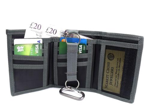 UNISEX CANVAS SPORTS WALLET CREDIT CARD HOLDER COIN POUCH LORENZ