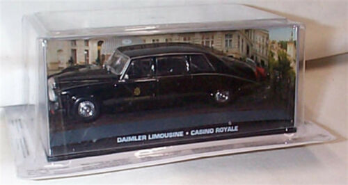 James Bond Daimler Limousine Casino Royale NEUF EMBALLAGE Scellé échelle 1:43