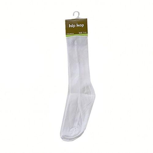Boys Ribbed Crew Dress Tuxedo Socks Formal 6 Pairs Pack Nylon Baby Toddler Kids