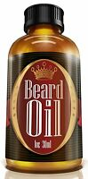 1 Men's Choice Beard Oil - Fragrance Free, All Natural, 100% Pure Blend Of Prem