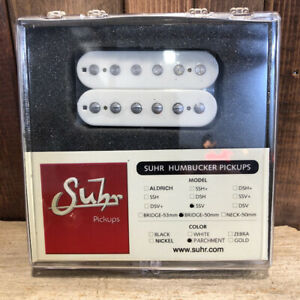 Suhr-SSV-Humbucker-Guitar-Pickup-Pont-de-position-50-mm-espacement-parchemin