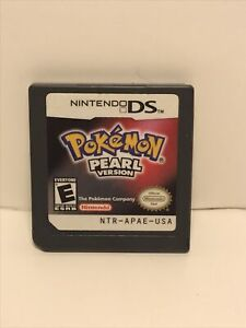 Pokemon Pearl Version Nintendo DS Cartridge Only (TESTED & WORKING) Authentic M