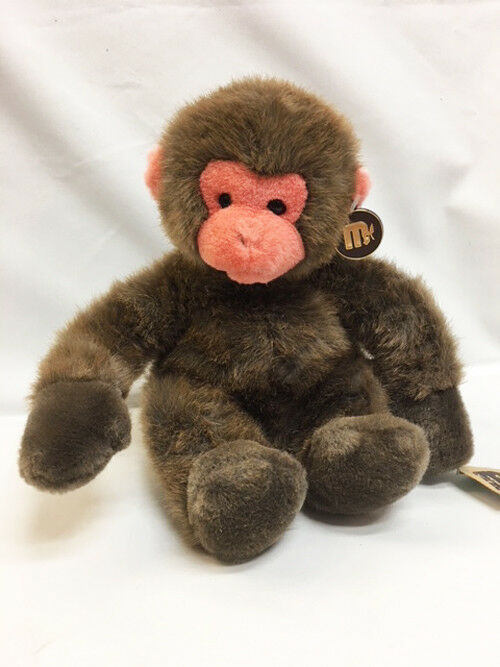 NEW Princess Toys PINK Face Plush Stuffed BROWN MONKEY