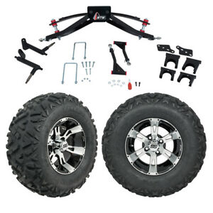 Gtw 6 Club Car Precedent Golf Cart Lift Kit With Mud Tires 12