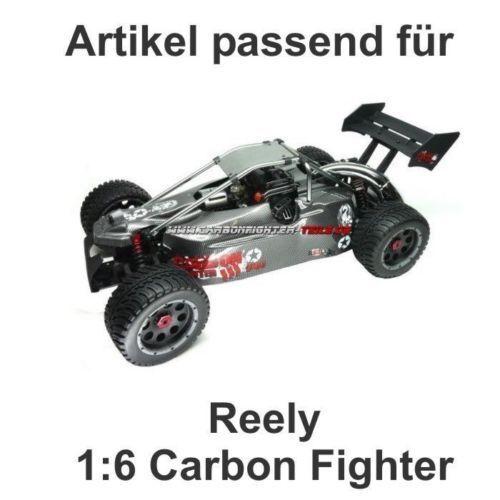Original 1:6 Reely Carbon Fighter 3 Gasgestänge mit Servoarm