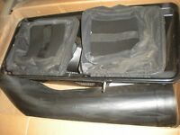 Mtd Model 190-103 Twin Bagger For 600 Series With 46 Hi Vacuum Deck -