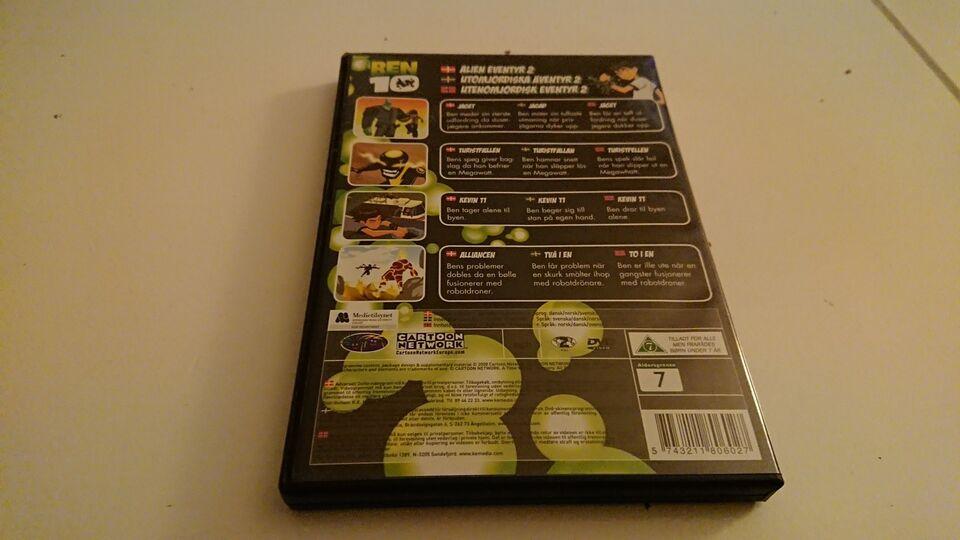 Ben - Alien eventyr 2, DVD, tegnefilm