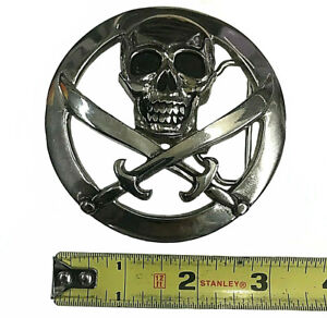Brand NEW! Skull And Crossbones Pirate Belt Buckle