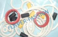 Kit caoutchoucs flipper  STERN  TERMINATOR 3   2003 blanc elastiques pinball