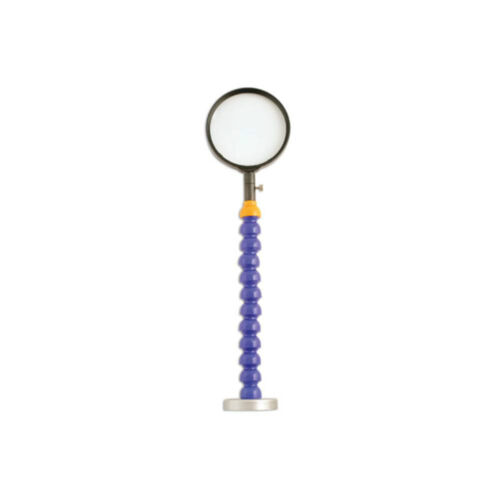 95mm Lens Flexible FLEXI Shaft Magnifying Glass With Strong Magnet 210mm Shaft