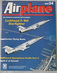 Airplane-Issue-34-Lockheed-F-104-Starfighter-Dornier-Flying-Boats-Nimrod