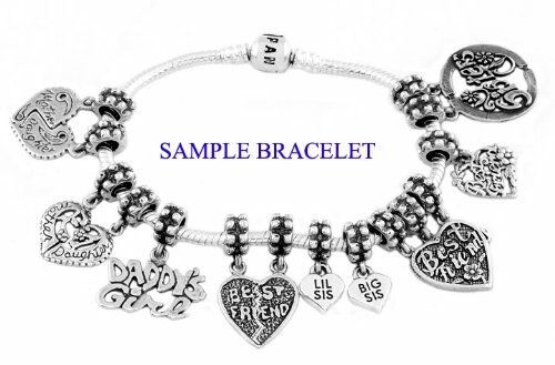 Sterling Silver pendantes simple Infinity Symbole Bead