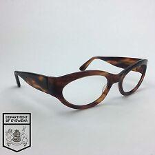 CALVIN KLEIN eyeglass TORTOISE frame OVAL Authentic. MOD: 719S