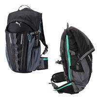 Puma PR Night Cat Powered Backpack Mens Rucksack Bag Black 072862 01 D140